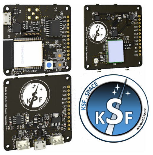 Cheap CubeSat boards by KSF Space Foundation USA